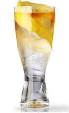 The 1915 Gin and Tonic is a classic cocktail predating prohibition. A clear cocktail made from Martin Miller's gin and tonic water, and served over ice in a highball or collins glass.