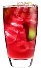 The 42 Below Kiwi Breeze is an exciting new member to the 'breeze' family of drinks. A red colored cocktail recipe made from 42 Below Kiwi vodka, cranberry juice, apple juice and lime, and served over ice in a highball glass.