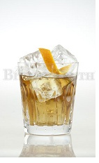The Almost Rye is a relaxing drink made from bourbon whiskey, The Bitter Truth Pimento Dram and orange zest, and served over ice in a rocks glass. With the flavor combination of bourbon and Pimento Dram, the taste is very similar to a good Scotch whiskey, but with an added bonus of orange zest.