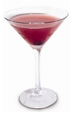 The Cherry Crack Martini is an addictive cocktail recipe made from sambuca, cranberry juice, cucumber, orange bitters and maraschino cherry liqueur, and served in a chilled cocktail glass garnished with a maraschino cherry.