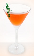 Bring along a little backup when hunting for a lover; Cupid is known to never fail. The Cupid's Arrow cocktail recipe is made from Fontana Pisco, Aperol, lemon juice, simple syrup, egg white and thyme, and served in a chilled cocktail glass.