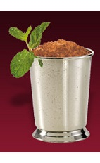 The Dubonnet Mint Julep drink recipe is an exciting variation of the classic Kentucky Derby Mint Julep cocktail. Made from Dubonnet Blanc, bourbon, mint and sugar, and served over crushed ice in an old-fashioned glass.