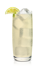 The Ginger Vanilla drink is made from Stoli Vanil vanilla vodka and ginger ale, and served over ice in a highball glass.