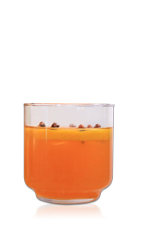 Come home for the holidays and share a drink with your family and friends. The Home for the Holidays cocktail recipe is made from Don Q Anejo rum, lemon juice, orange juice, simple syrup, ginger liqueur and Drambuie, and served over ice in a rocks glass.