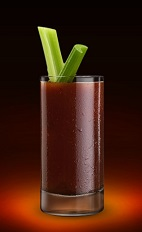 The Jager Mary is a manly version of the classic Bloody Mary drink recipe. A red colored drink made from Jagermeister and Bloody Mary mix, and served over ice in a highball glass.