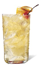 The Jimador Sour Apple is the perfect summer drink made from tequila, Apple Pucker sour apple schnapps, sour mix and Sprite, and served over ice in a highball glass.