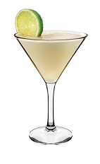The Pineapple Martini is a yellow colored cocktail made from Smirnoff pineapple vodka, lime and pineapple juice, and served in a chilled cocktail glass.