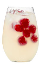 The Raspberry Lemon Punch is made from Smirnoff Raspberry Pomegranate vodka, lemonade and raspberries, and served from a punch bowl or pitcher. This recipe serves 4.