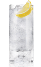 The Razz Lemon Lime is a clear colored drink made from Bacardi Black Razz raspberry rum and lemon-lime soda, and served over ice in a highball glass.