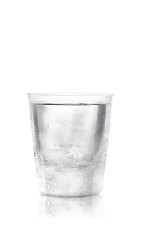 The Razz Shot is a clear colored shot made from Bacardi Black Razz rum, and served in a chilled shot glass.