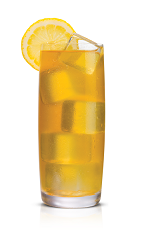 The Sticki Palmer drink is made from Stoli Sticki honey vodka, lemonade, iced tea and honey, and served over large ice cubes in a highball glass.