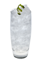 The Vanilla Mist drink is made from Smirnoff Vanilla vodka, lemon-lime soda and lime, and served over ice in a highball glass.
