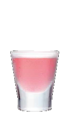 The Wild Berry Pop Tart may share some characteristics with Britney Spears, and a few too many of these may turn you into a tart as well. A pink colored shot made from Three Olives berry vodka, vodka and strawberry schnapps, and served in a shot glass.