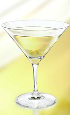 Enjoy a classic martini, with a little Polish style. The Zubrowka Vodka Martini cocktail is made from Zubrowka Bison Grass vodka, dry vermouth and apple juice, and served in a chilled cocktail glass.