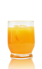 The 101 Sherbet is an orange colored drink recipe made from Admiral Nelson's 101-proof spiced rum and orange juice, and served over ice in a rocks glass.
