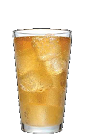 The 3-O Ginger Snap drink recipe is made from Three Olives whipped cream vodka and ginger ale, and served over ice in a highball glass.