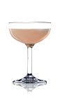 The 75 Cocktail is a variation of the classic French 75 drink recipe. Made from Lucid absinthe, calvados, gin and grenadine, and served in a chilled cocktail glass.