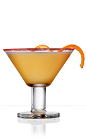 The 901 and Nectar cocktail recipe is an orange colored drink made from 901 Silver tequila, triple sec, honey, orange juice and lime juice, and served in a chilled cocktail glass garnished with red sugar and an orange twist.