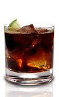 The Admiral and Cola is a simple drink recipe made from Admiral Nelson's spiced rum, lime juice and Coke or Pepsi, and served over ice in a rocks glass.