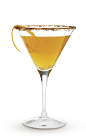 The Autumn-tini cocktail recipe is a mix of fall flavors in a wonderful drink. Made from Cruzan rum, hazelnut liqueur and pear nectar, and served in a chilled cocktail glass rimmed with traditional fall spices.