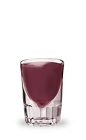 The Berry Grape is a purple shot made from Pucker Grape Schnapps and Pucker Raspberry Schnapps, and served in a chilled shot glass.