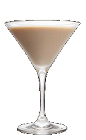 The Black and White Cookie recipe is a cream colored dessert cocktail made from Three Olives chocolate vodka, vanilla vodka and Bailey's Irish cream, and served in a chilled cocktail glass.