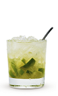 The Caipirissima is a classic Brazilian drink recipe made from Caribbean rum instead of the traditional cachaca (also known as Brazilian Rum in the USA). Made from Cruzan light rum, lime and simple syrup, and served over ice in a rocks glass.