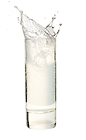 The Chilled Smooth is made from chilled Malibu Red, and served in a chilled shot glass.