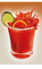 The Clamato Preparado Fresco is a traditional red drink recipe with a little heat and a lot of flavor. Made from Clamato tomato cocktail, Worcestershire sauce, tequila, lime and jalapenos, and served in a salt-rimmed rocks glass.
