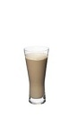 The Grand Iced Cafe Latte is a relaxing brown drink made from Grand Marnier orange liqueur, cold milk and cold espresso, and served in a highball glass.