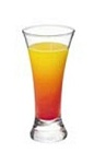 The Grand Tequila Sunrise is a fruity orange and red drink made from Grand Marnier, tequila, orange juice and grenadine, and served in a highball or collins glass.
