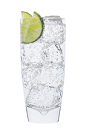 The Green Apple and Tonic is a clear drink made from Smirnoff Green Apple vodka, lime and tonic water, and served over ice in a highball glass.
