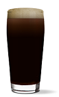 The Irish Joe is a good drink to start your St. Patrick's day celebrations. A black colored cocktail made from UV Espresso flavored vodka and Guinness, and served in a chilled beer glass.
