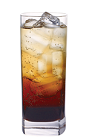 The Kahlua Soda is a bubbly way to use the old-familiar coffee liqueur in a new way. A brown colored drink made from Kahlua coffee liqueur and club soda, and served over ice in a highball glass.