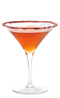 Named for the classic opera, the Madame Butterfly cocktail is not as morbid, and could likely lead to happier endings. An orange colored drink made from Gran Gala Triple Orange liqueur, orange vodka, Aperol, verjuice, yuzu juice and dried raspberry powder, and served in a chilled cocktail glass.