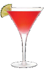 The Mediterranean Martini recipe is a red colored cocktail made with the Mediterranean flavor of the luxurious pomegranate. Made from Three Olives pomegranate vodka and pomegranate liqueur, and served in a chilled cocktail glass.
