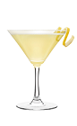 The Pear Martini is a fruity drink made from Smirnoff pear vodka and pear juice, and served in a chilled cocktail glass.