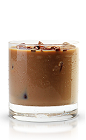 The Perfect Gentleman is a wonderful blend of tropical and Old World flavors. A brown colored drink made from New Amsterdam coconut vodka, Irish cream and chocolate liqueur, and served over ice in a rocks glass.