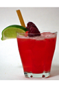 The Raspberry Caipiroska is a variation of the classic Brazilian Caipiroska cocktail. A skinny red colored drink made from Effen raspberry vodka, sugar-free raspberry puree, lime juice and Splenda, and served over ice in a rocks glass.