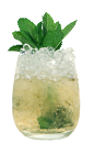 The Root Beer Julep is a modern play on the classic Kentucky Derby drink: Mint Julep. Made from Smirnoff Root Beer vodka, bourbon, maple syrup and mint leaves, and served over crushed ice in a rocks glass.