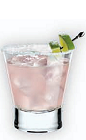 The Ruby Margarita is a fruity Cinco de Mayo cocktail. A pink cocktail made from Herradura tequila, pomegranate juice, agave nectar and lime juice, and served over ice in a rocks glass.
