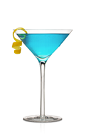 The Rum Cosmo is an exciting variation of the classic sexy Cosmopolitan cocktail recipe. A blue colored drink made from Don Q white rum, blue curacao and lime juice, and served shaken in a chilled cocktail glass.