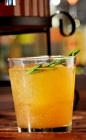 Sit back and have a few drinks while watching the Super Bowl. The Stadium Cider is an orange colored party drink recipe made from Licor 43, spiced rum, apple cider, simple syrup and lemon juice, and served from a pitcher. Recipe serves 8-12.