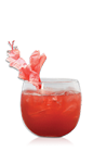 The Sucker Punch drink recipe is a party punch made for a large crowd. Made from Don Q anejo rum, citrus rum, lime juice, apple juice, hibiscus tea, ginger syrup, mineral water and apple slices, and served over ice in a pitcher or punch bowl.