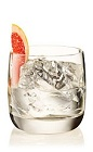 The Summer on the Rocks is a clear drink made from Beefeater gin and grapefruit, and served over ice in a rocks glass.