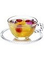 The Summer Punch is a light and fruity punch recipe for 10 guests made from Riesling wine, maraschino liqueur, ginger liqueur, oranges, pineapple and raspberries, and served from a punch bowl.