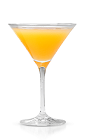 The Pick Up is a refreshing orange colored cocktail that may help you pick someone up after all... Made from New Amsterdam vodka, elderflower liqueur, orange juice and bitters, and served in a chilled cocktail glass.