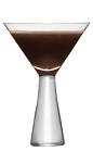 Bring together the world's most popular beans into a great cocktail recipe. The Twin Bean Tini is a brown colored drink recipe made from Kamora coffee liqueur and vanilla vodka, and served in a chilled cocktail glass.