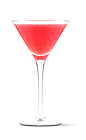 The Ultimate Lemonade cocktail recipe is made from UV Lemonade vodka, lemonade and cranberry juice, and served in a chilled cocktail glass.