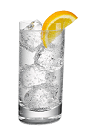The Vodka Tonic drink is made with Smirnoff vodka and tonic water, and served in a highball glass over ice.